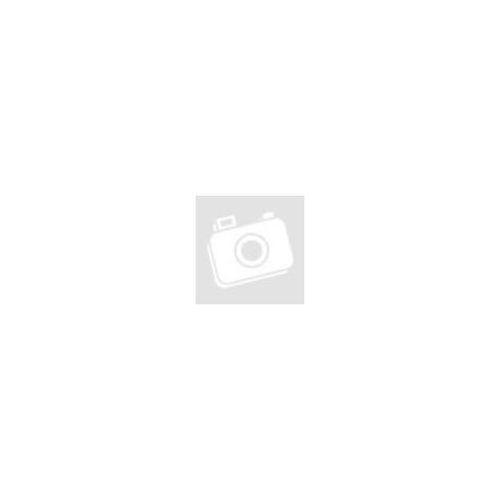 HUN feliratos férfi cipzáras, kapucnis pulóver fekete díszvarrással
